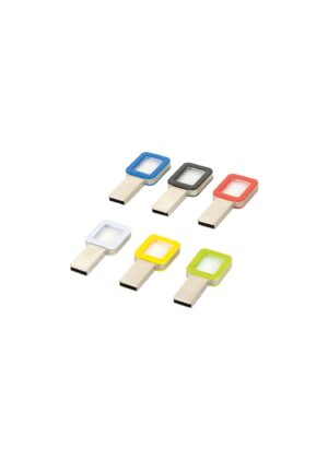 8 GB Şeffaf USB Bellek